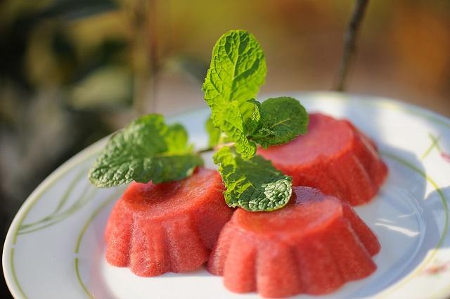 gelatina de ameixa